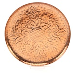 Persimmon Lane Etched Copper Tray