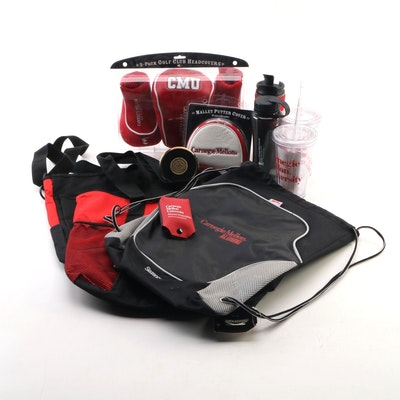 Carnegie Mellon Alumni Totes, Golf Club Covers and Water Bottles