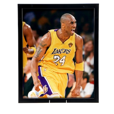 Kobe Bryant Los Angeles Framed Basketball Photo Print, CEI Sports