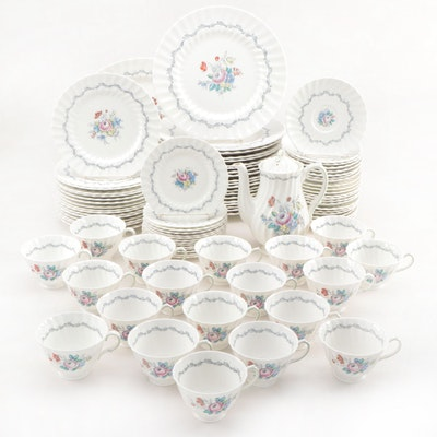 "Royal Doulton ""The Chelsea Rose"" Bone China Dinnerware, 1964–1970"