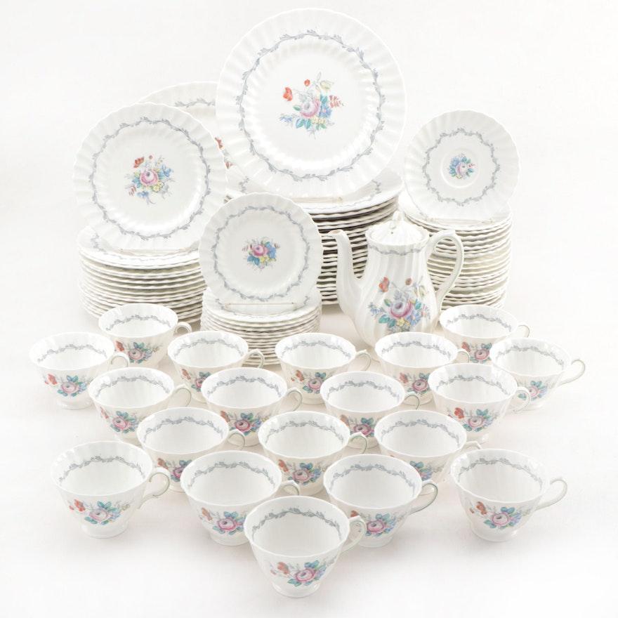 "Royal Doulton ""The Chelsea Rose"" Bone China Dinnerware, 1964–1970"