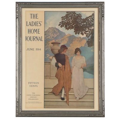 Ladies Home Journal Offset Lithograph, 1914