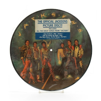 Jacksons Picture Disc Featuring Michael Jackson