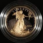 2003-W $10 Gold American Eagle Proof
