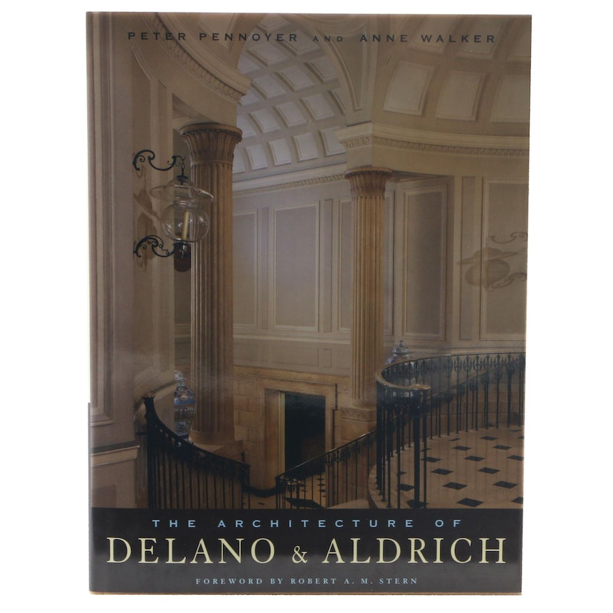 """First Edition """"The Architecture of Delano & Aldrich"""" by Pennoyer and Walker"""