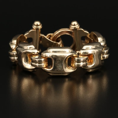 14K Panel Bracelet
