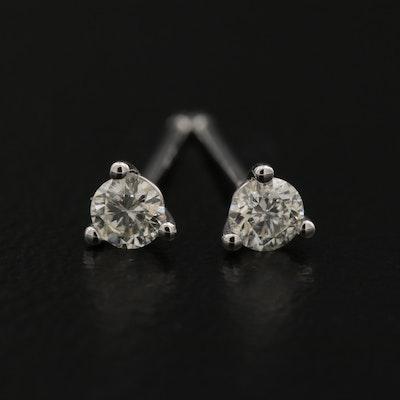 14K 0.16 CTW Diamond Martini Set Stud Earrings