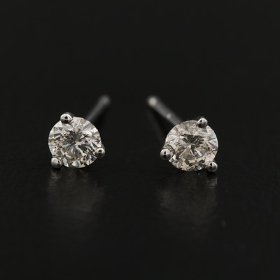 14K 0.36 CTW Diamond Martini Set Stud Earrings