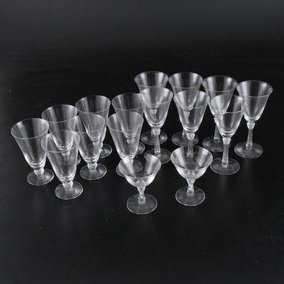 "Fostoria ""Sceptre"" Iced Tea Glasses and Stemware, 1937–1971"