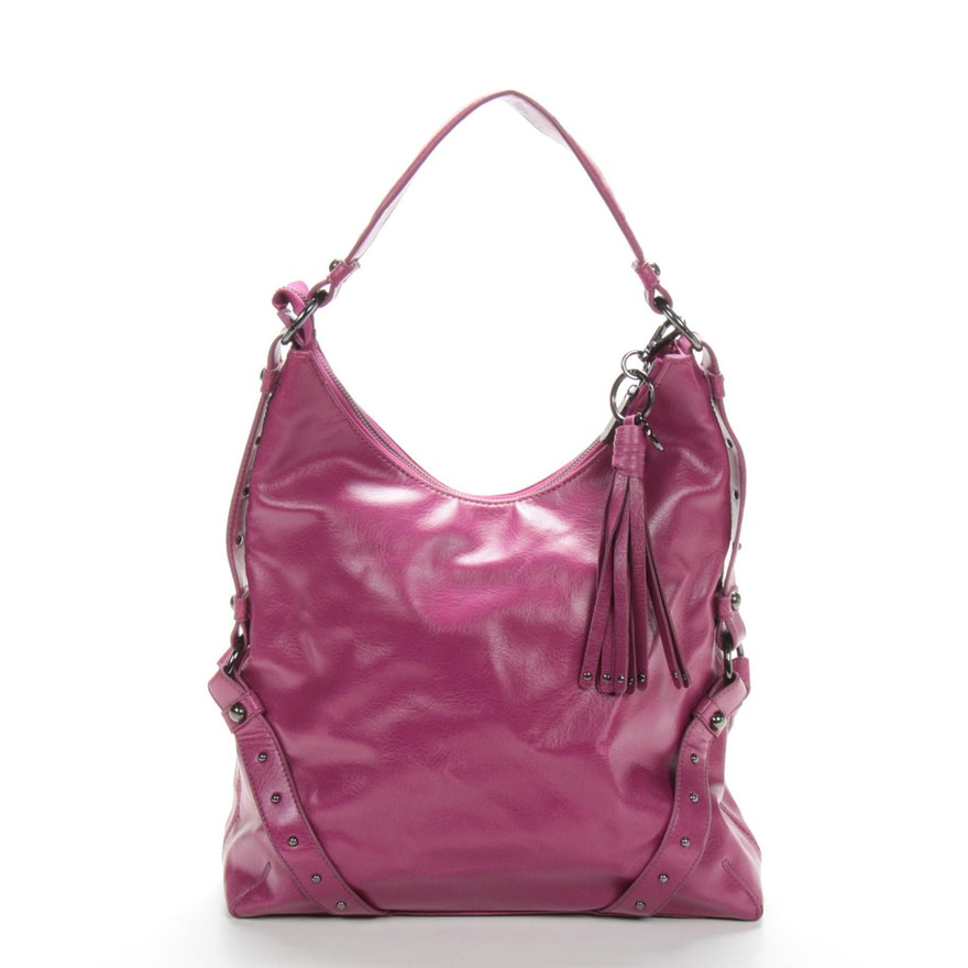 Botkier for Target Hobo Shoulder Bag in Purple Faux Leather