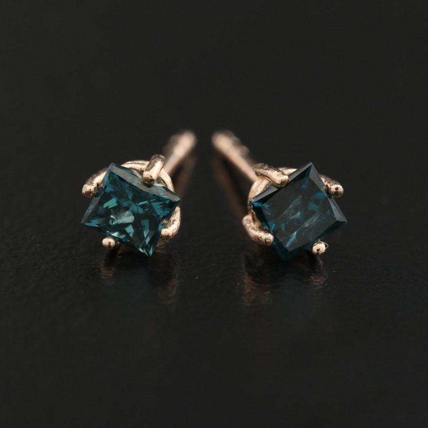 14K 0.45 CTW Diamond Stud Earrings