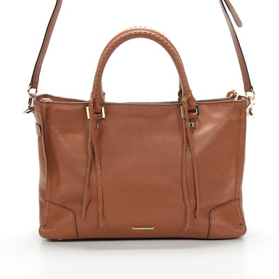 Rebecca Minkoff M.A.B. Satchel in Pebbled Leather