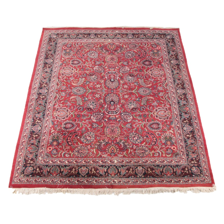 8'2 x 10'10 Hand-Knotted Persian Tabriz Wool Rug
