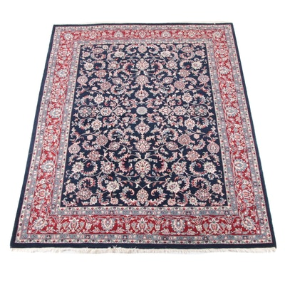 7'10 x 10'8 Hand-Knotted Persian Tabriz Wool Rug