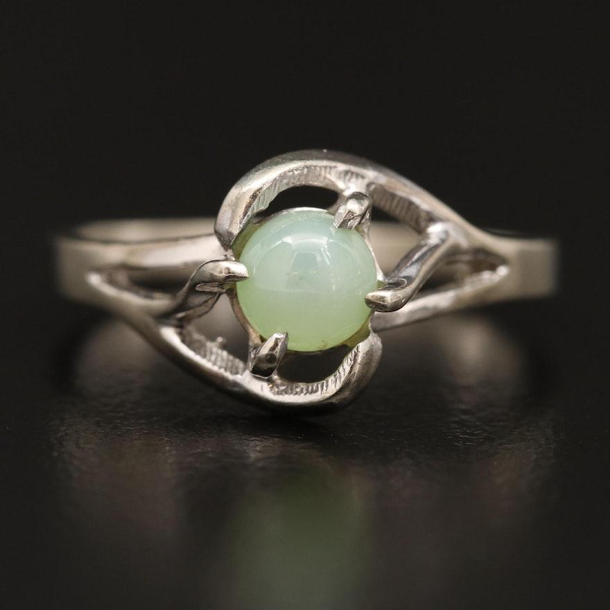 10K Star Sapphire Ring