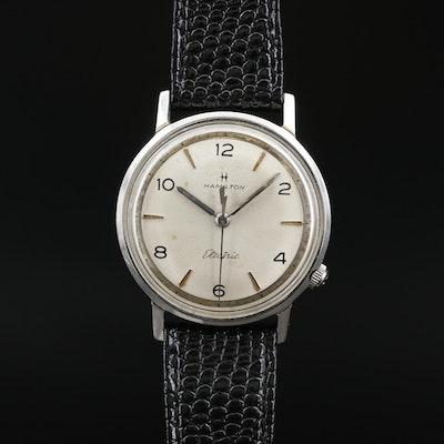 Vintage Hamilton Nautilus 500 Stainless Steel Electric Wristwatch