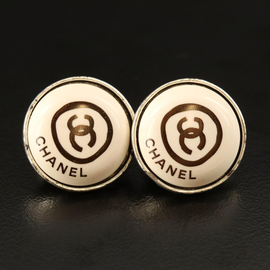 Chanel 2000 Transitional Season Collection Non-Pierced Earrings