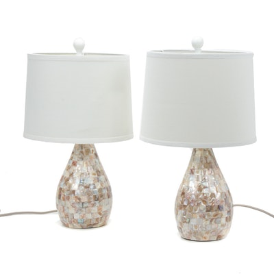 Safavieh Abalone Shell Table Lamps