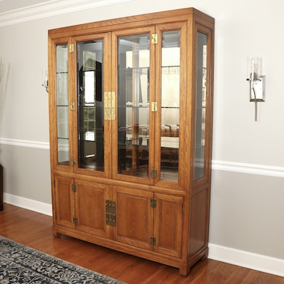 "Century ""Sobota Collection"" Asian Inspired China Cabinet"