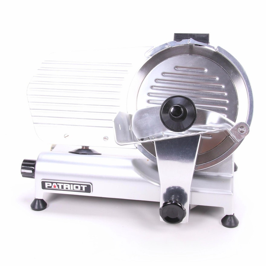"Patriot Commercial 10"" Meat Slicer, Model SL250ES-10"