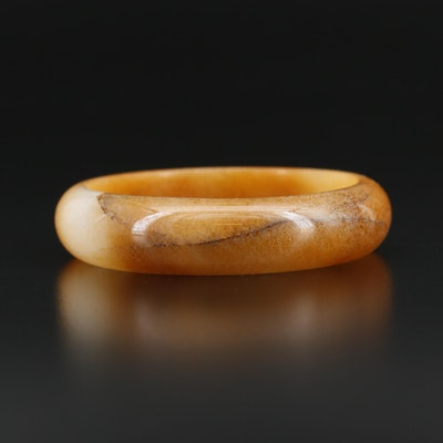 Hololith Quartzite Bangle