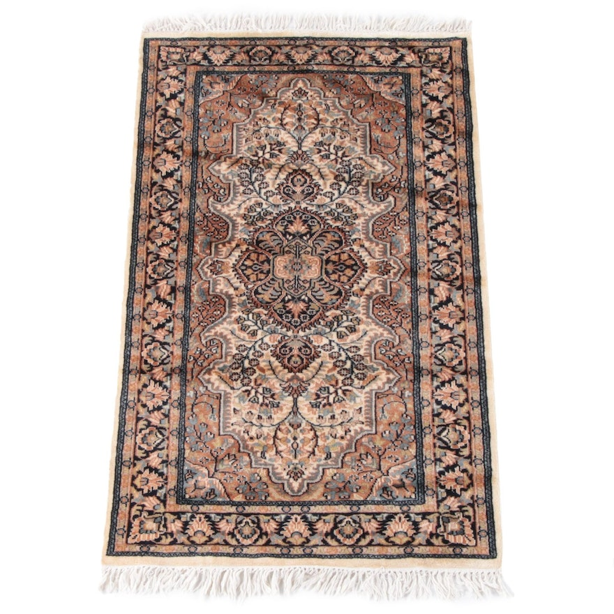 3'1 x 5'7 Hand-Knotted Persian Sarouk Wool Rug