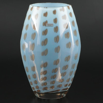 "Waterford ""Evolution"" Opaline Art Glass Vase"