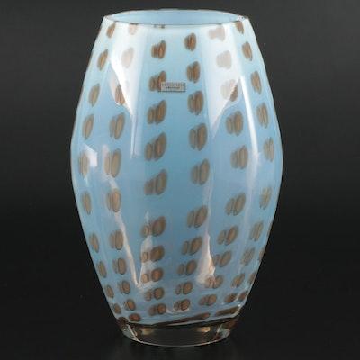 """Waterford """"Evolution"""" Opaline Art Glass Vase"""