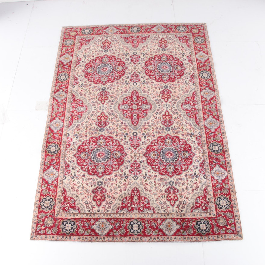 7'6 x 11'2 Hand-Knotted Northwest Persian Wool Rug