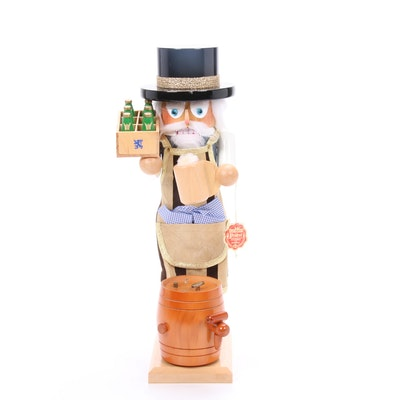 Steinbach Hand-Crafted Musical Brew Master Nutcracker