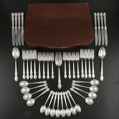 "Rogers International Silver ""Wedding Bells"" Sterling Silver Flatware, 1948–1959"