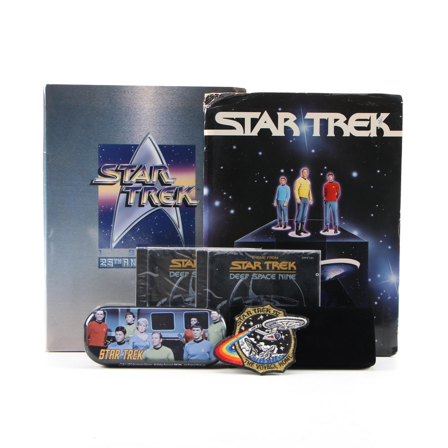 Star Trek Original Series 25th Anniversary Press Kit and Other Items