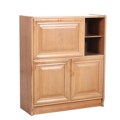Three-Door Wood Cabinet