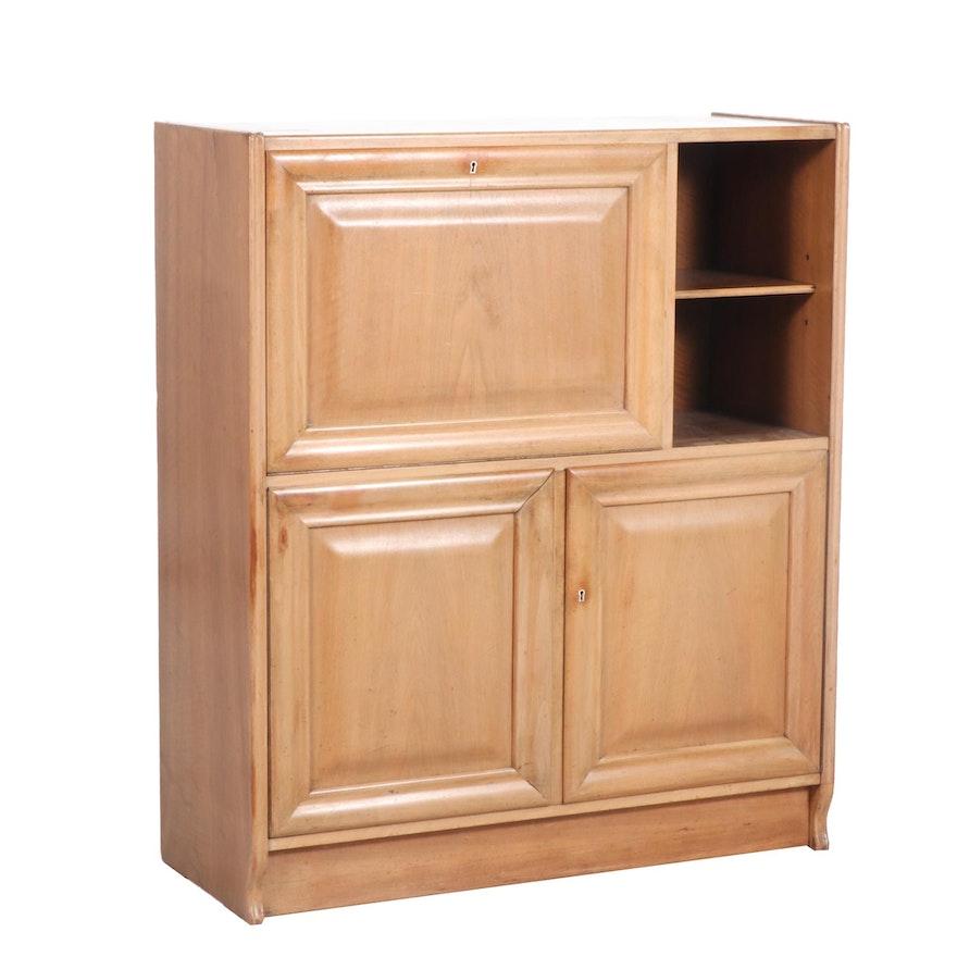 Three-Door Wood Cabinet