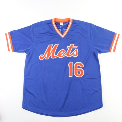 Dwight Gooden Signed New York Mets Replica Jersey with COA