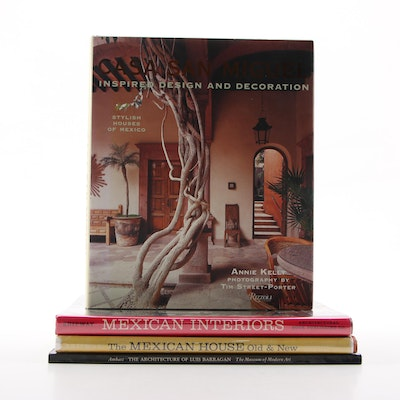 "First Edition ""Casa San Miguel: Inspired Design and Decoration"" with Other Books"