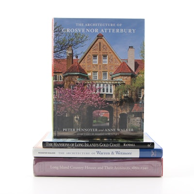 First Edition Dual-Signed Architectural Books by Pennoyer and Walker with Others