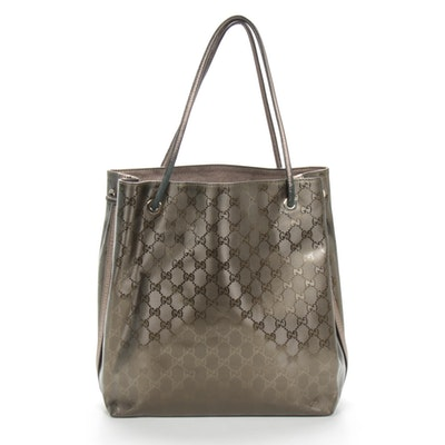 Gucci GG Gifford Crystal Monogram Tote