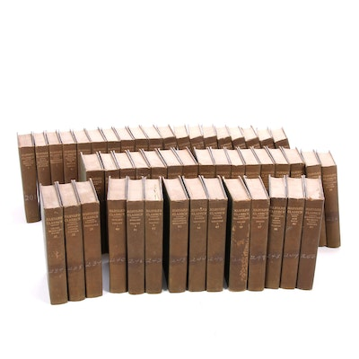 """Near Complete """"The Harvard Classics"""" Series Edited by Charles W. Eliot, 1909"""