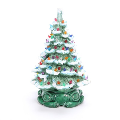 Atlantic Mold Ceramic Tabletop Christmas Tree