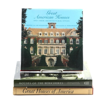 "Architecture and Interior Design Books Featuring ""Houses of the Berkshires"""