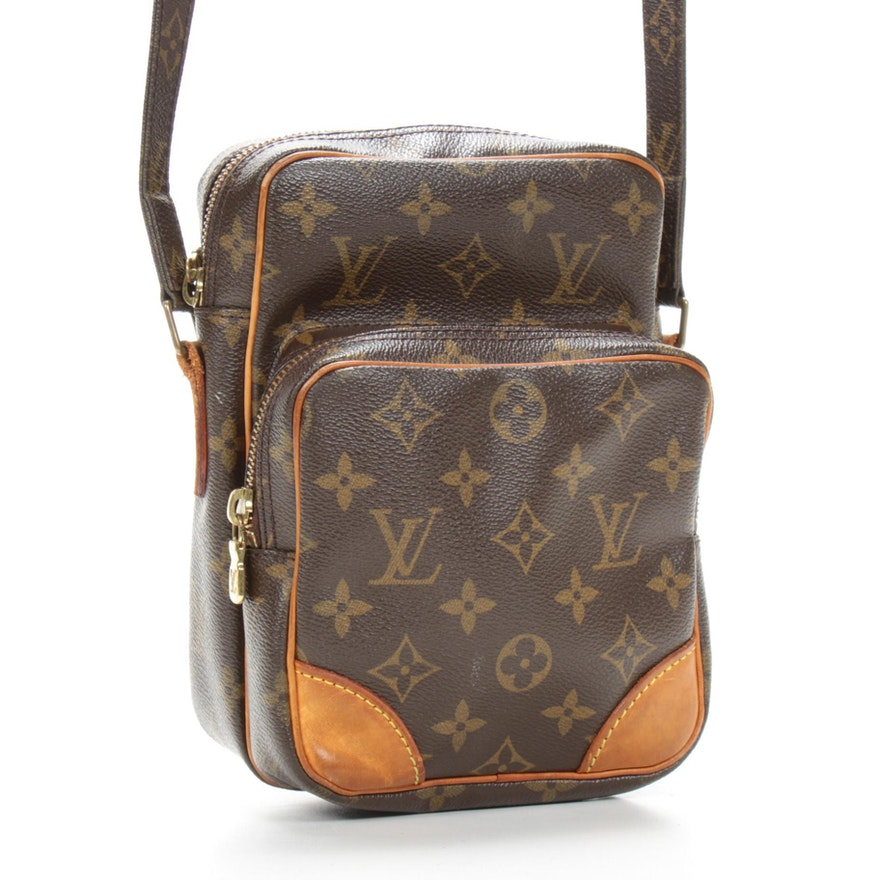 Louis Vuitton Amazone Crossbody Bag in Monogram Canvas and Leather