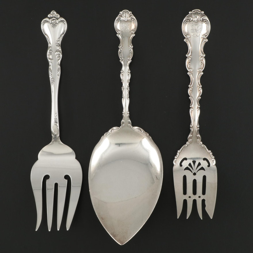 Gorham with Reed & Barton Sterling Silver Serving Utensils