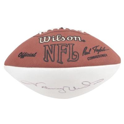 Johnny Unitas Autographed Wilson NFL Football, PSA/DNA