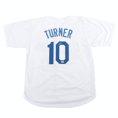 Justin Turner, Signed Los Angeles Dodgers Replica Jersey, COA