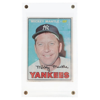 1967 Mickey Mantle Topps #150 New York Yankees Baseball Card