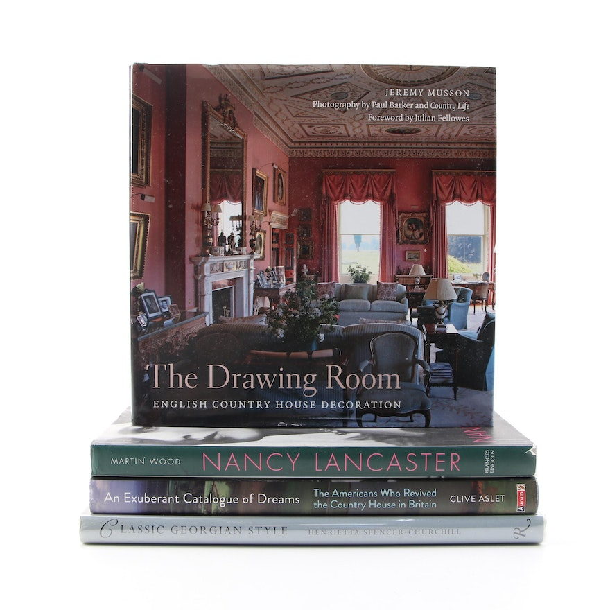 Architecture and Decor of English Country Houses Including First Editions