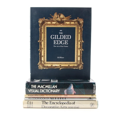 "Signed First Edition ""The Gilded Edge"" by Eli Wilner with Other Books"