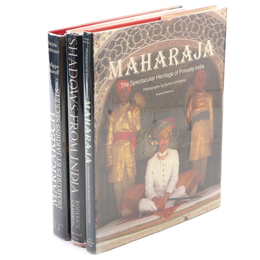 "English and French Language Books Including ""Maharaja"" by Andrew Robinson"