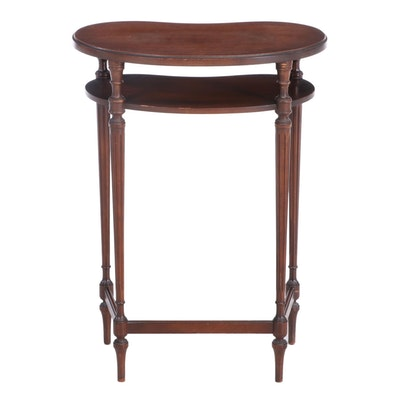 Imperial Furniture Kidney Shaped Tiered Side Table, circa 1930